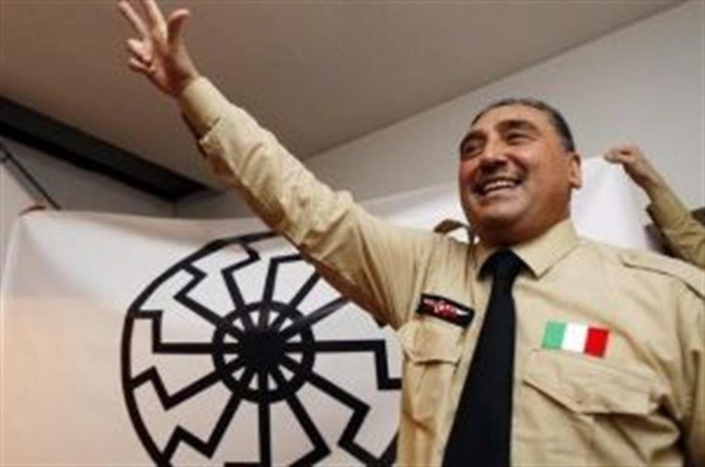 Il neofascista messinese Gaetano Saya arrestato a Genova. Fondò una polizia parallela