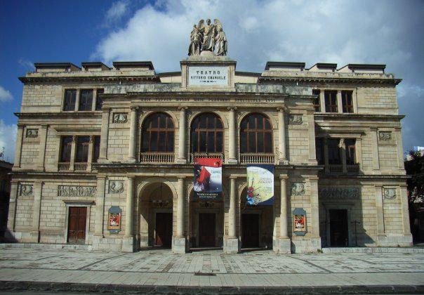 teatro vittorio emanuele messina pianta - photo#37