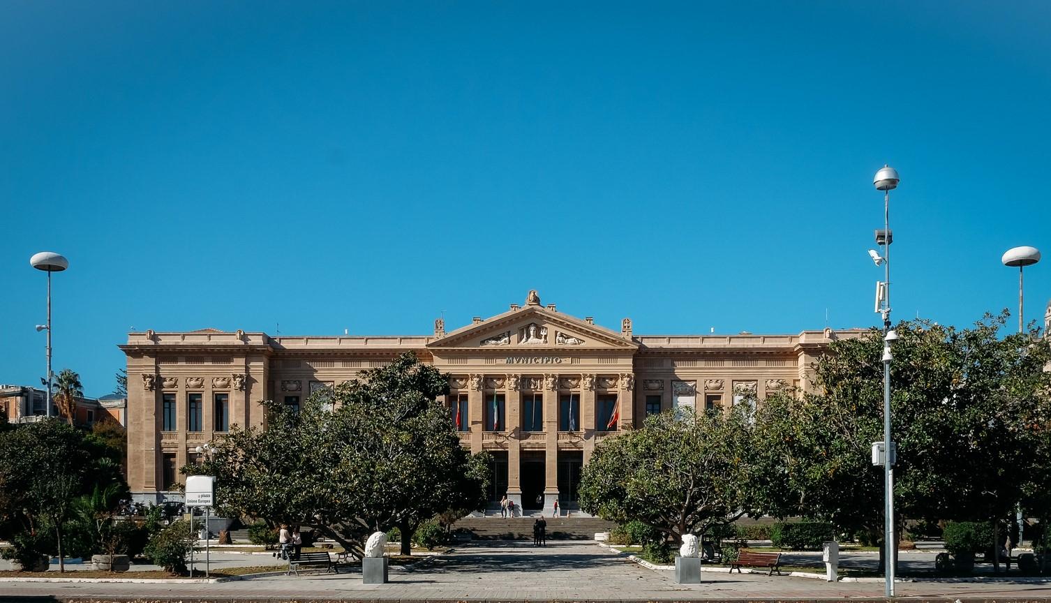 PIazza Municipio, Palazzo Zanca, municipio,