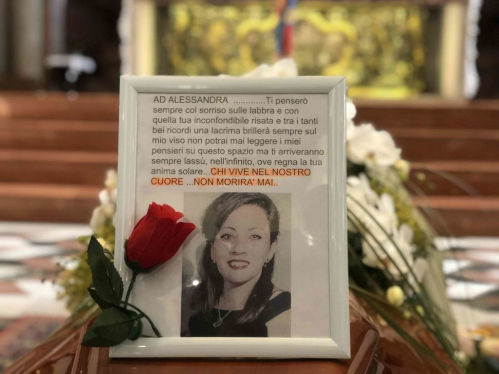 Funerali Alessandra