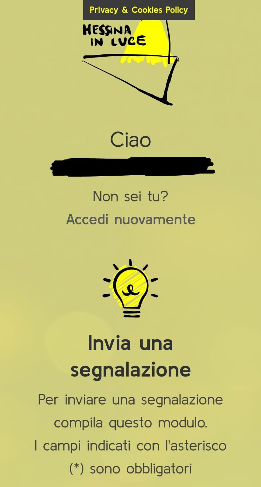 Messina in luce, arriva l'app per segnalare i guasti alla ...