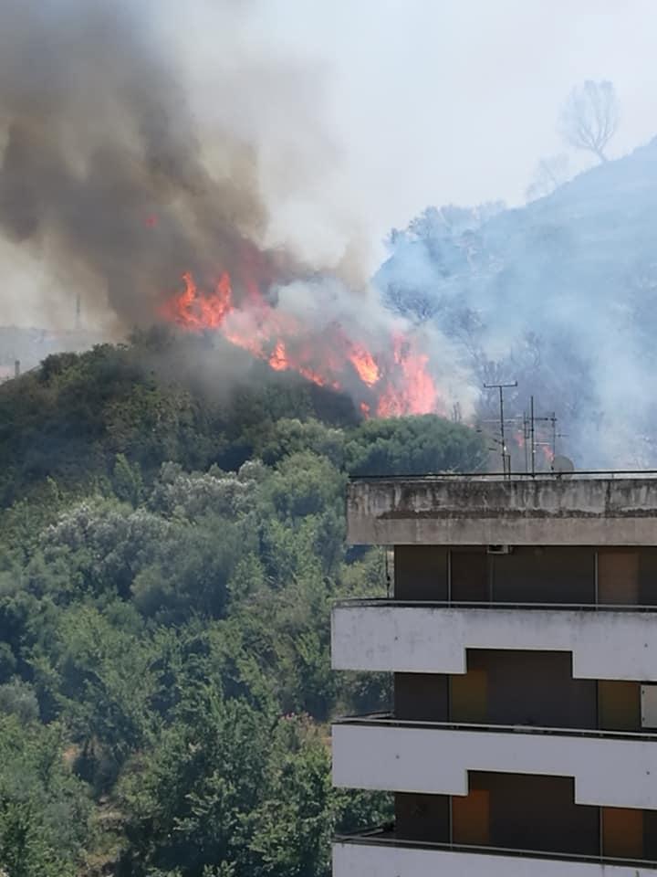 Incendio 29-06-2020 a Messina
