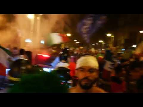 Italia Campione d'Europa, Messina si tinge d'azzurro: la festa dei tifosi